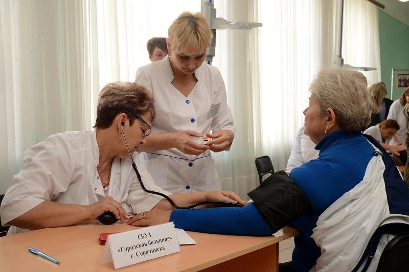 Акция «Поговорите с доктором» прошла в Сорочинском городском округе