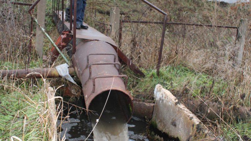 Сточные воды угрожают экологии округа