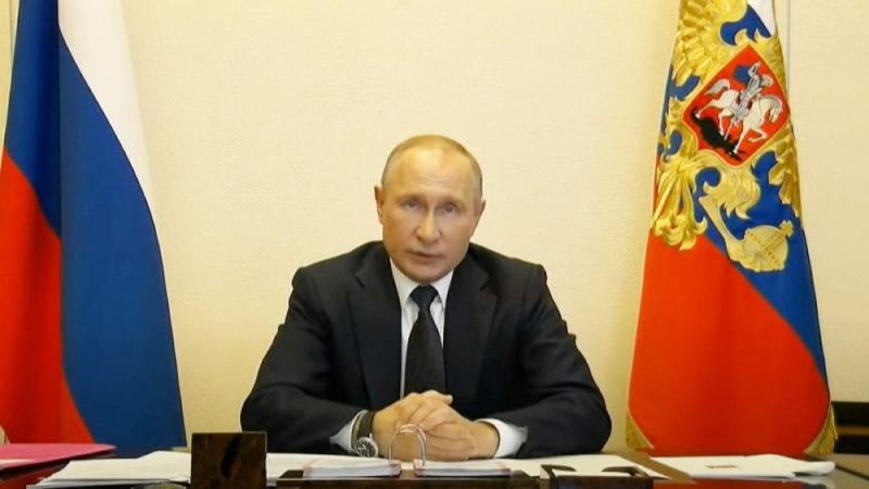 Президент: «Обращаюсь ко всем гражданам России»