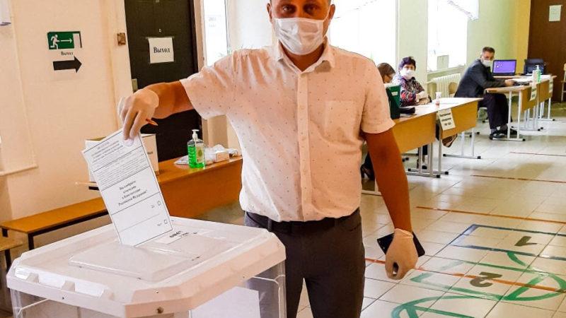 Оренбуржье – голосует!