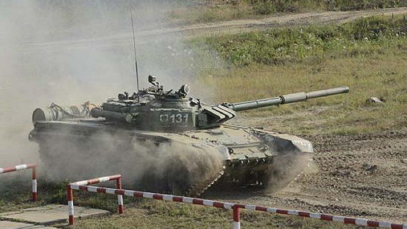 Под Оренбургом танкисты ЦВО уничтожили бронемашины противника