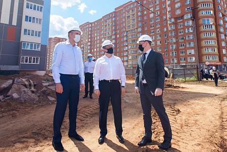 В Оренбуржье работает министр строительства и жилищно-коммунального хозяйства Российской Федерации Владимир Якушев