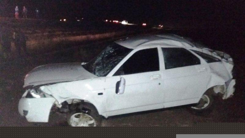 Неопытный водитель допустил ДТП