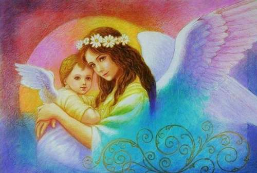 Нарисуем ангела