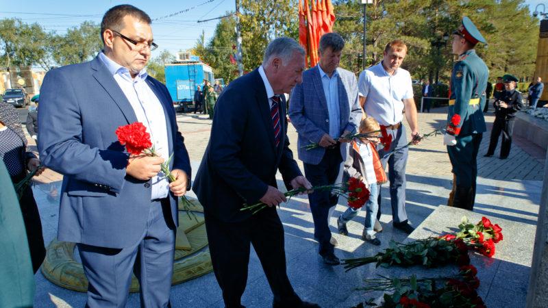 Сергей Бабин принял участие в памятном мероприятии, посвященном Дню окончания Второй мировой войны