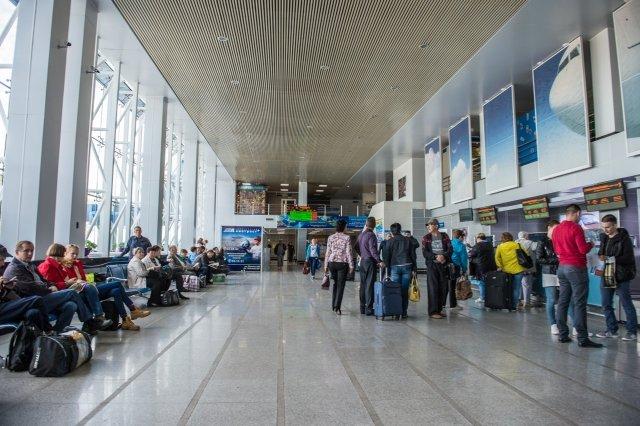 В аэропорту Оренбурга в августе вырос пассажиропоток
