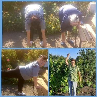 Фитнес – тренировка по «дистанционке»