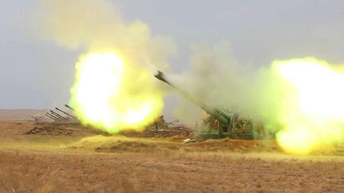 В Оренбуржье нанесен ракетно-бомбовый авиационный удар по «противнику»