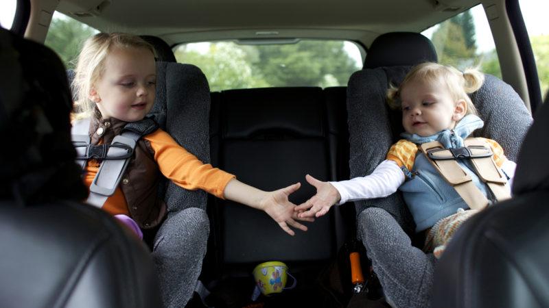 Перевозим детей по-новому