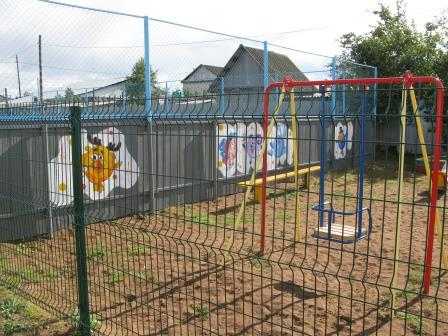 В Сорочинске на средства «Народного бюджета» открыли детскую  площадку