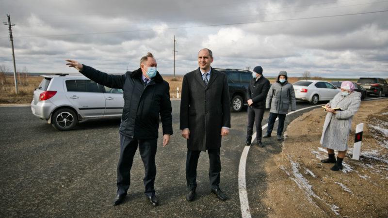 Губернатор оценил состояние дороги «Ташла – Сорочинск»