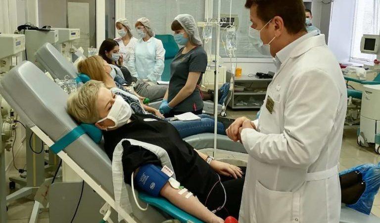 В Оренбуржье ведется заготовка антиковидной плазмы