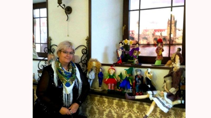 Наши куклы в Оренбургской галерее