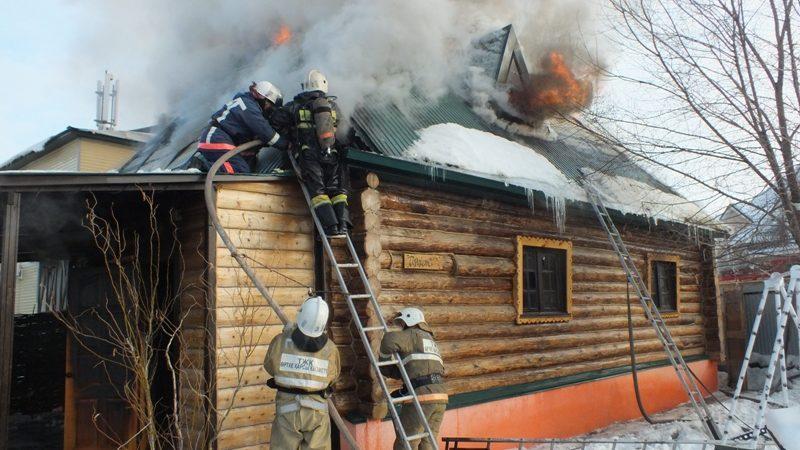 Пожары в банях – опасно и наказуемо!