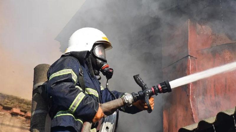 Пожар в Пронькино