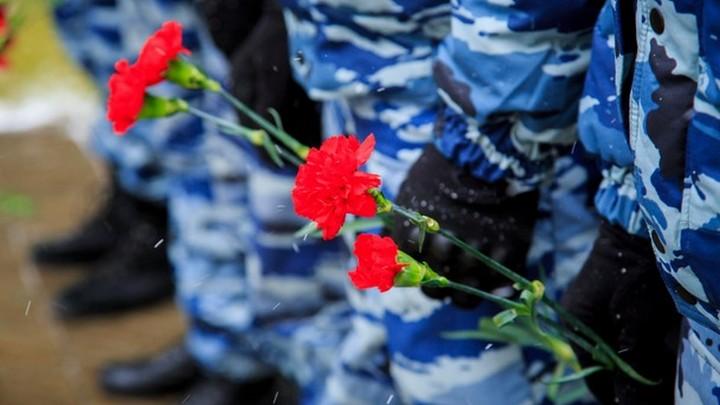 Члены семей погибших при исполнении служебных обязанностей сотрудников органов внутренних дел получили материальную помощь