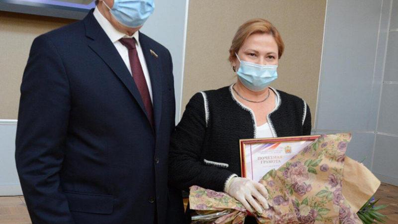 Денис Паслер поздравил с юбилеем Совет женщин Оренбуржья
