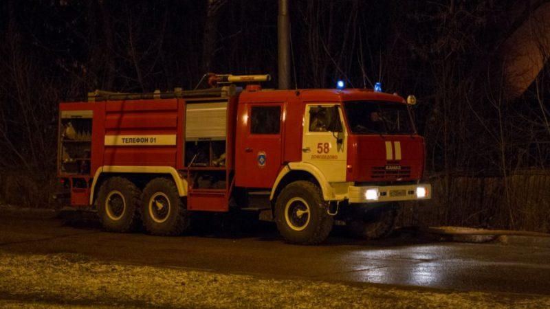 Субботний пожар в Пронькино