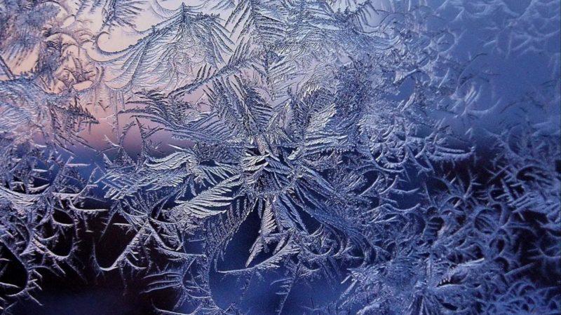 Пришли морозы в Оренбуржье