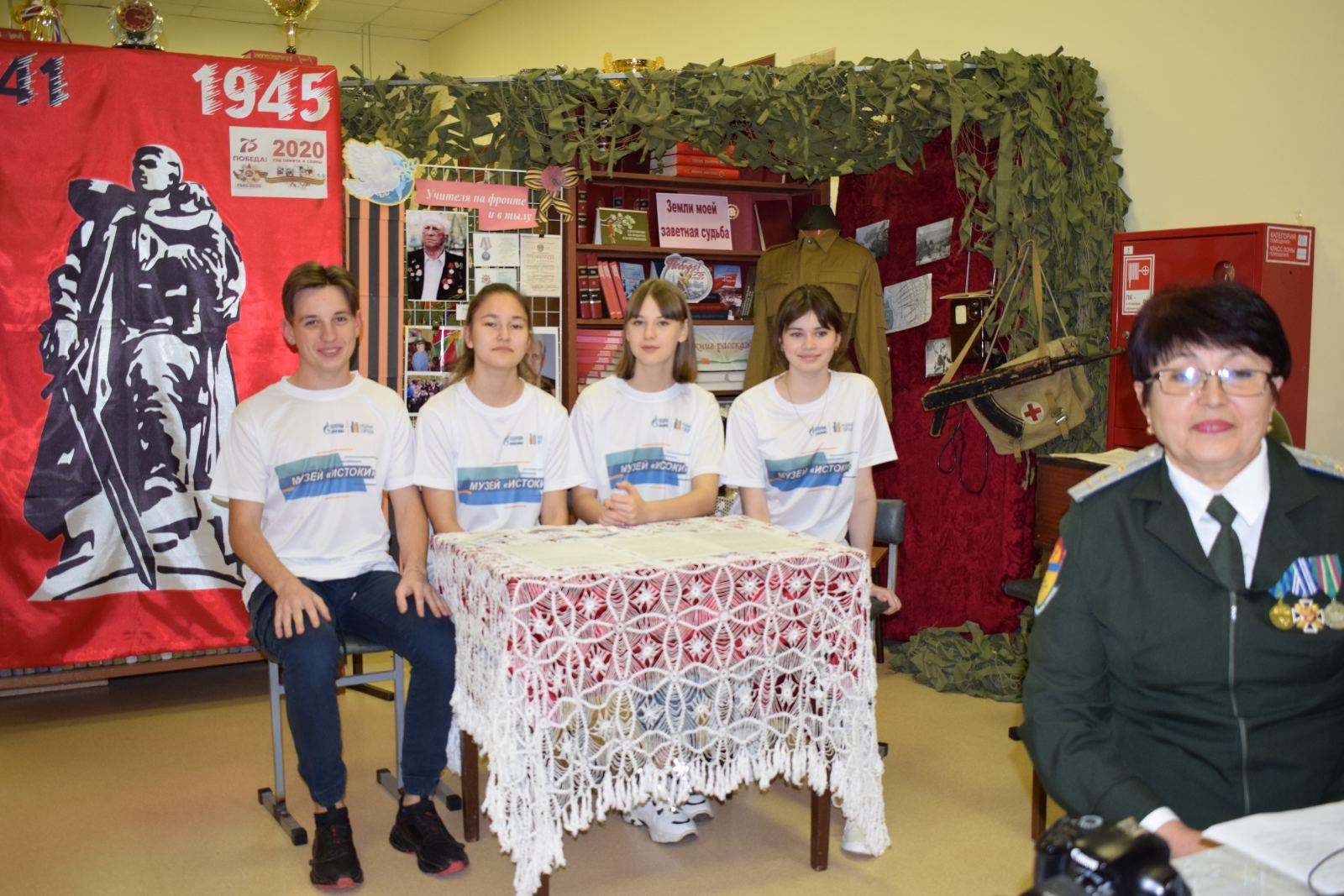Руководитель музея «Истоки» Тихонова Нурзия Габрауфовна стала призером конкурса краеведов