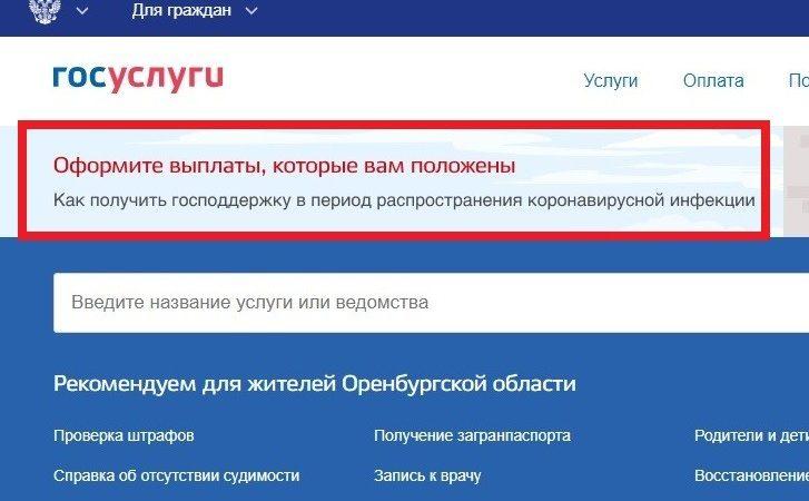 О полагающихся мерах соцподдержки россиян уведомят