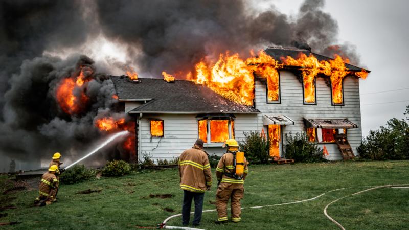 Пожары в зданиях по вине арендаторов