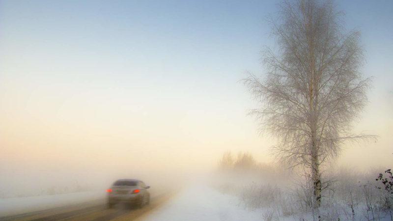 В прогнозе погоды – туман