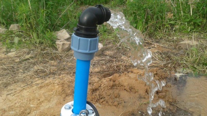 Восстановление водоснабжения