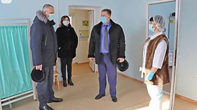 Сорочинский главврач познакомился с Красногвардейской больницей