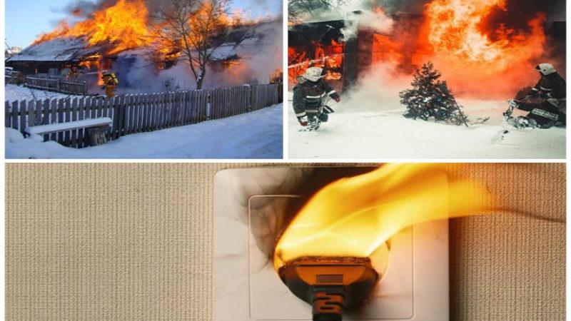 Обстановка с пожарами на территории Сорочинского городского округа