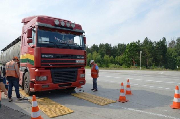На движение грузовиков введено ограничение