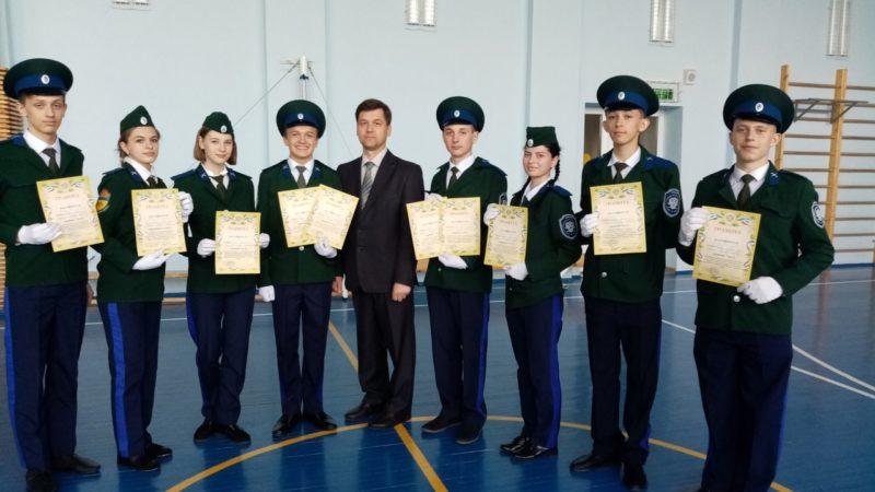 Казаки из школы № 117 стали лучшими на «Зарнице»