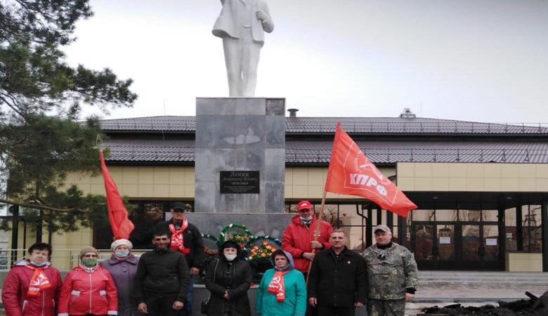 Память о Ленине жива