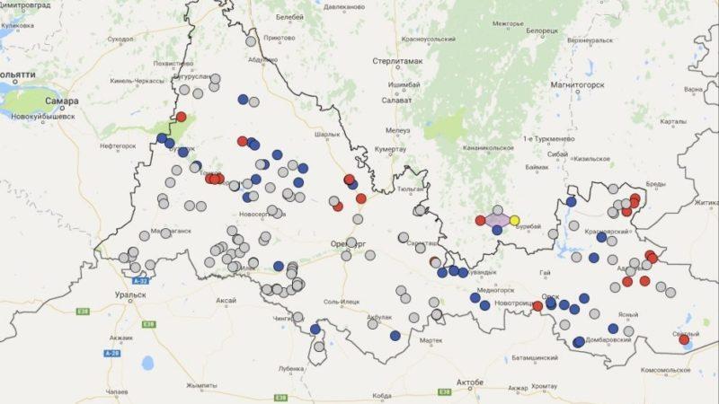 Паводок – на интерактивной карте