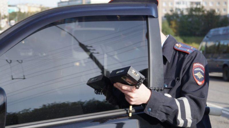 За тонировку – предупреждение, штраф и арест
