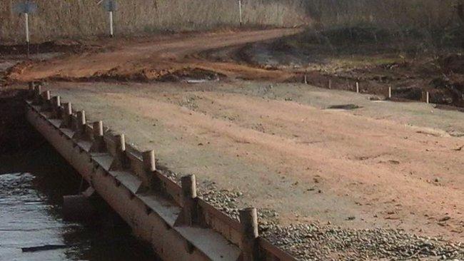 Низководный мост в Малаховке открыт