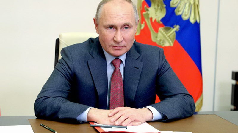 Владимир Путин отметил важную роль «Единой России» в подготовке послания Федеральному собранию