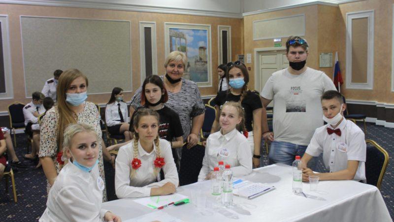 Сорочинские школьники приняли участие в областном конкурсе знатоков избирательного права