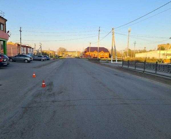 В Сорочинске в результате ДТП несовершеннолетний водитель мотоцикла получил телесные повреждения