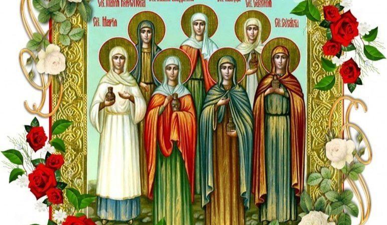 С православным женским днëм!