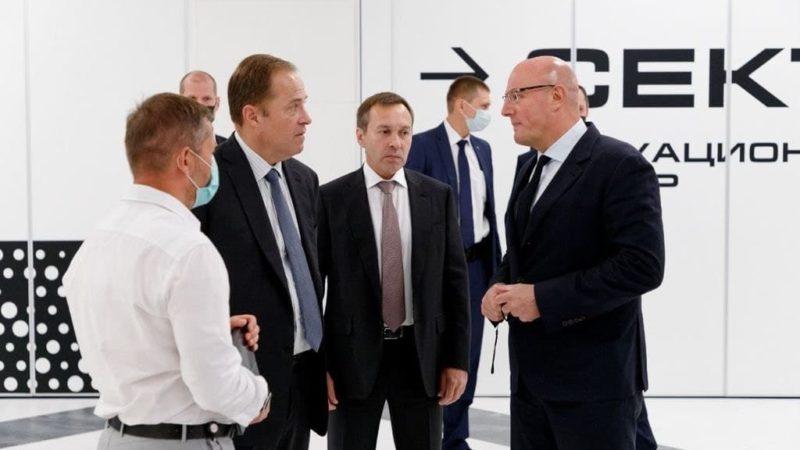 Дмитрий Чернышенко и Игорь Комаров обсудили подходы к социально-экономическому развитию ПФО