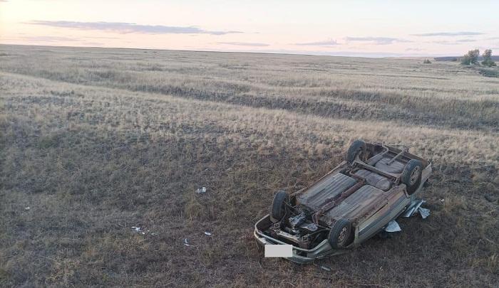 В Сорочинском округе водитель-«бесправник» съехал в кювет