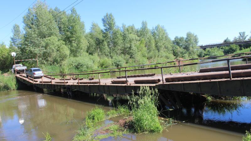 Понтонный мост обновится