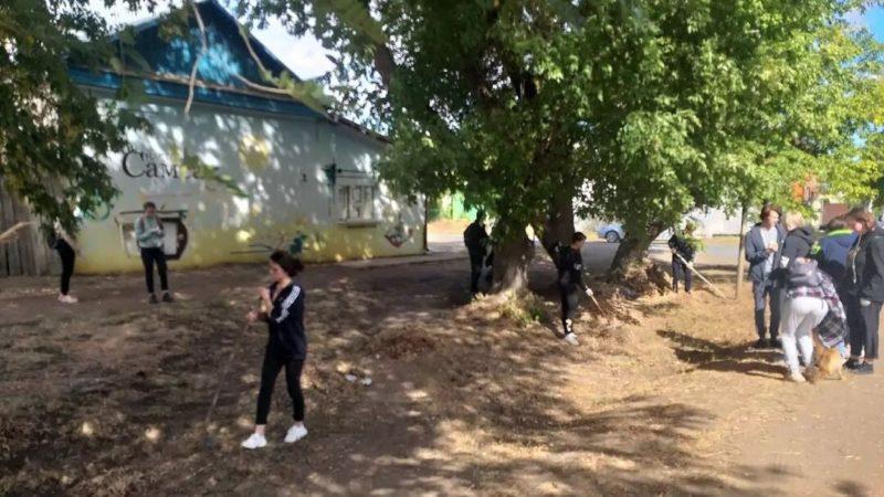 Студенты СВТ за чистый город!