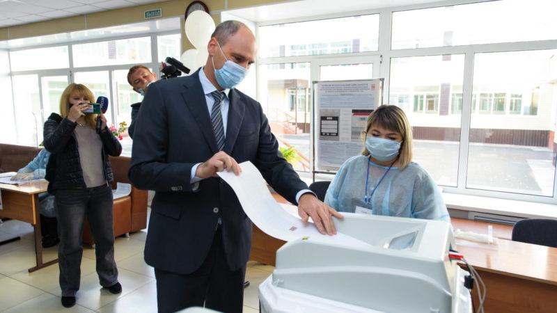 В Оренбуржье стартовало трехдневное голосование на выборах в Госдуму и Заксобрание