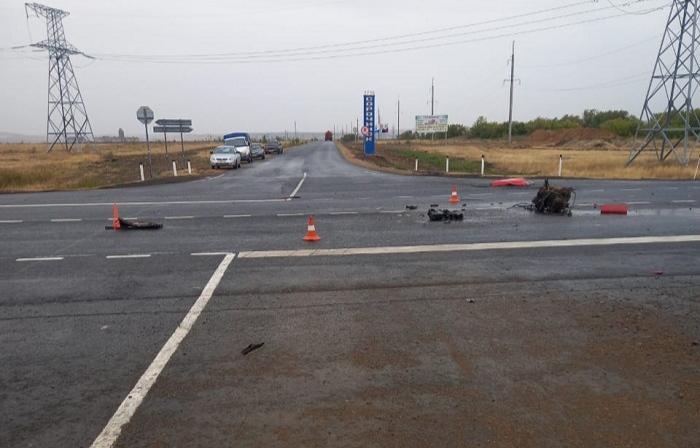 В Сорочинском городском округе в ДТП погиб водитель и пострадали дети