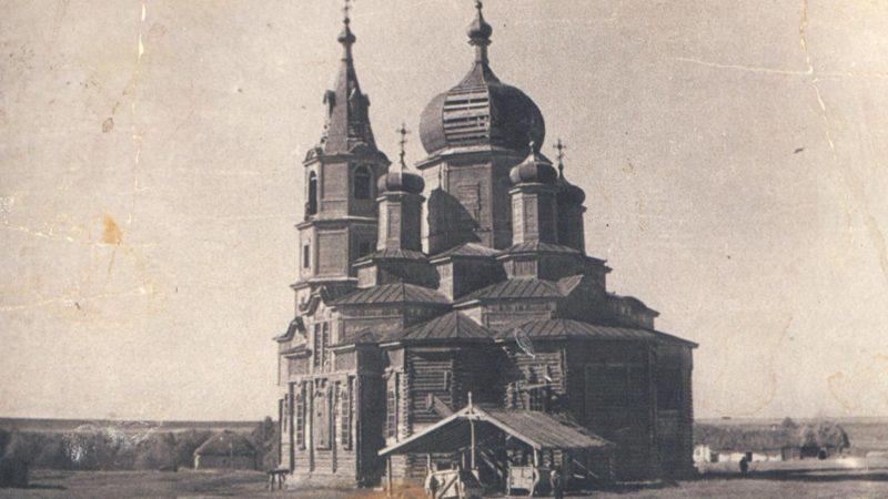 Уникальная святыня Толкаевки
